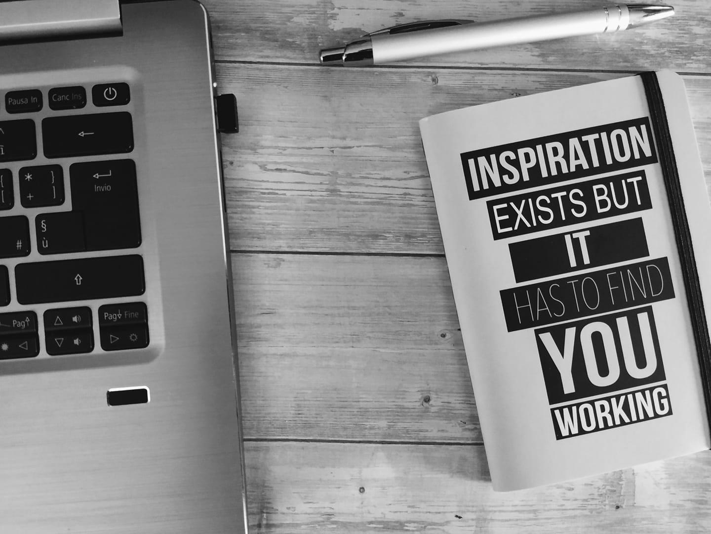 ispirazione per scrivere